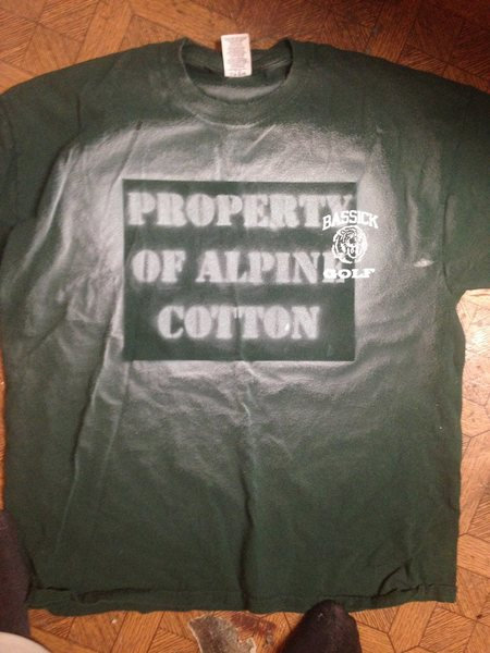 Alpine Cotton prototype... Our first tangible product