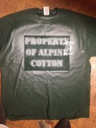 Rock Climbing Photo: Alpine Cotton prototype... Our first tangible prod...