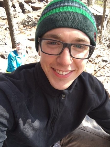 Rock Climbing Photo: Smiling because i love the outdoors.