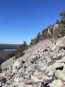 Rock Climbing Photo: Talas field