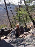 Rock Climbing Photo: Chris on Belay