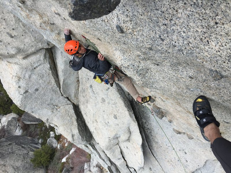Rock Climbing Photo: Candyass