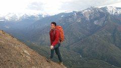 Rock Climbing Photo: Great views from Moro Rock