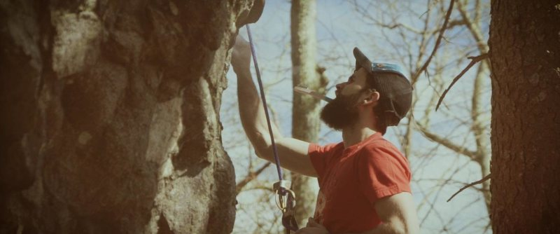 Rock Climbing Photo: New highball project!