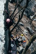Rock Climbing Photo: fun, heady warmup.