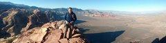 Rock Climbing Photo: Top o Mt. Wilson