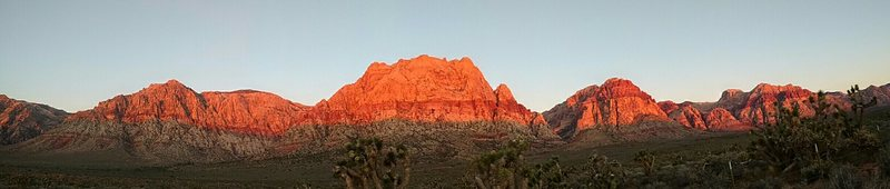 Rock Climbing Photo: Red Rock dawn.