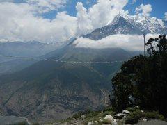 Rock Climbing Photo: Nilgiri or something like that.