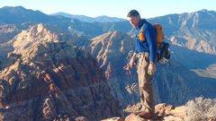Rock Climbing Photo: Wilson summit.