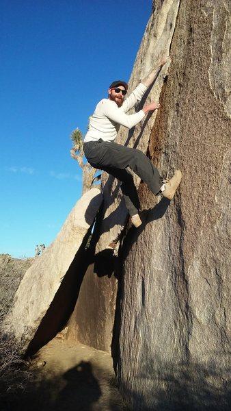 Rock Climbing Photo: Best buddy old pal