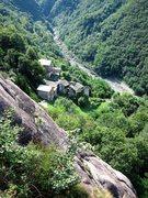 Rock Climbing Photo: The scenic Sasso Bianco