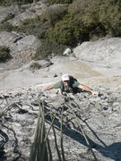 Rock Climbing Photo: Steep jugs!