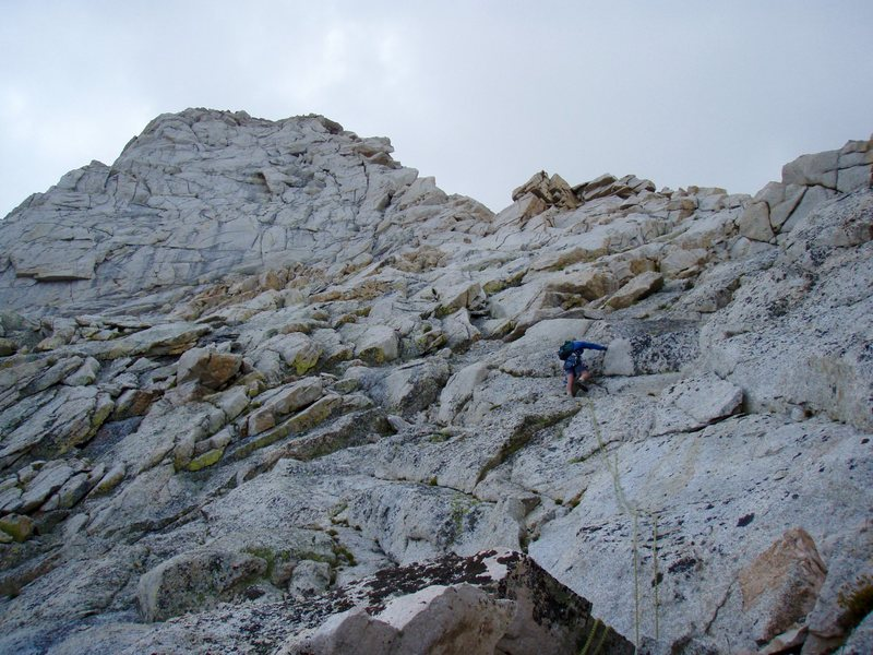 Rock Climbing Photo: Lone Pine Peak.