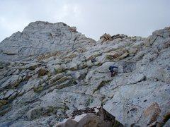 Rock Climbing Photo: Lone Pine Peak.