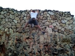 Rock Climbing Photo: Haaarghhh