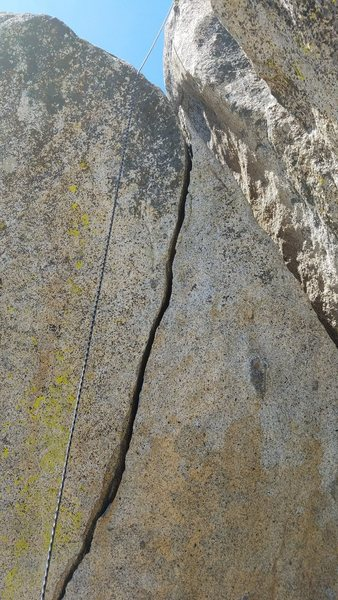 Rock Climbing Photo: TR of Pop Quiz