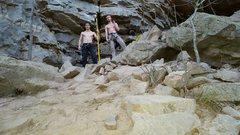 Rock Climbing Photo: Canyon Men