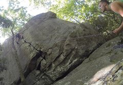 Rock Climbing Photo: Unknown Crack at Rocktown...FA? Who knows.