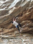 Rock Climbing Photo: The Lion 12b in Little River Canyon