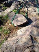 Rock Climbing Photo: no pro?