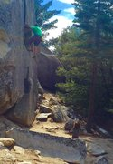 Rock Climbing Photo: Blessed with some of the best spotters and partner...