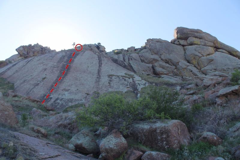 Rock Climbing Photo: Devil's slide