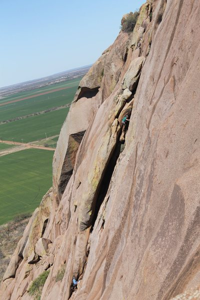 Rock Climbing Photo: Commit