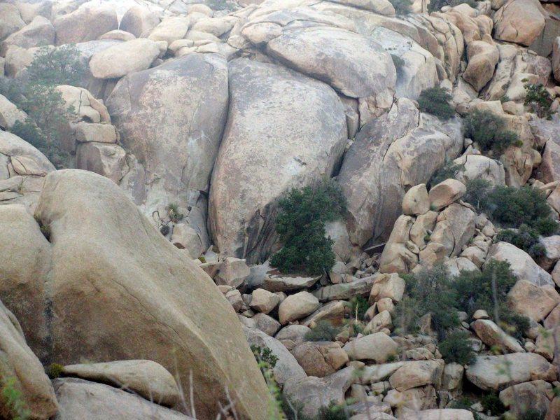 Rock Climbing Photo: Vector Rock