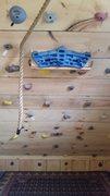 Rock Climbing Photo: Barn climb wall.