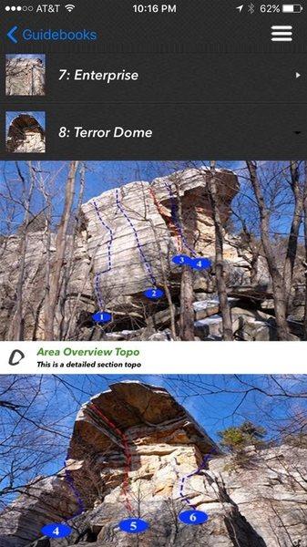 Rock Climbing Photo: Peter's Kill App