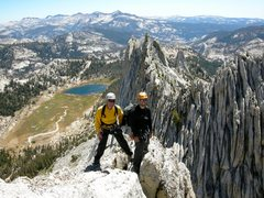 Rock Climbing Photo: Matthes Crest. Yosemite.