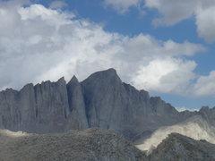 Rock Climbing Photo: Mt. Whitney.