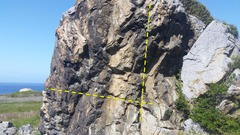 Rock Climbing Photo: Right side of the rock has some poison oak but it ...