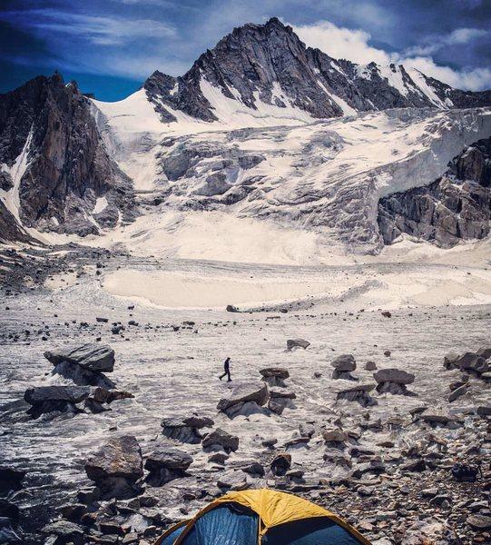 Rock Climbing Photo: ABC towards Gunthers Col