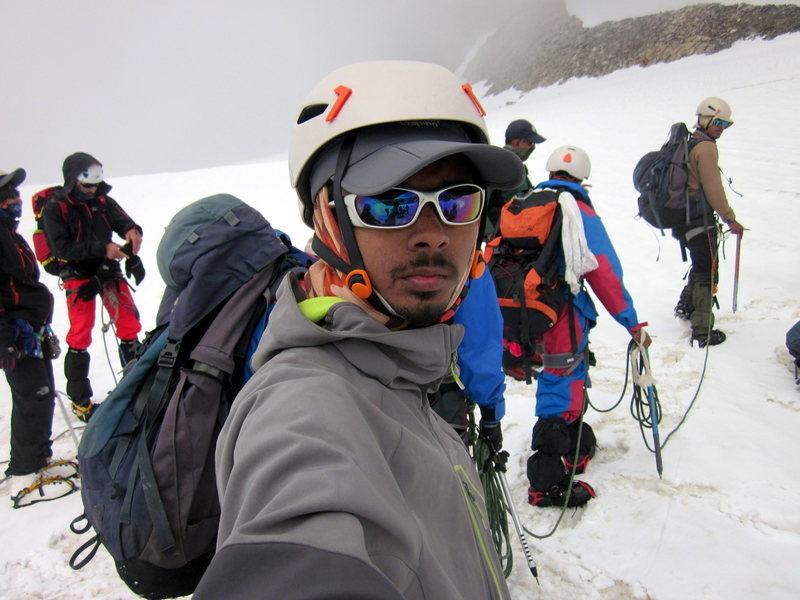 Rock Climbing Photo: One of my High Altitude Selfie :-P