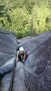 Skywalker in Squamish. <br /> <br />Photo by Aaron Nash.
