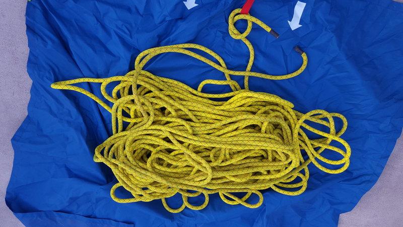 Rock Climbing Photo: Apex rope