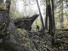 Rock Climbing Photo: good climbing here...