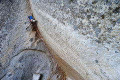 Grand Illusion 5.13c (photog: Jerry Dodrill)