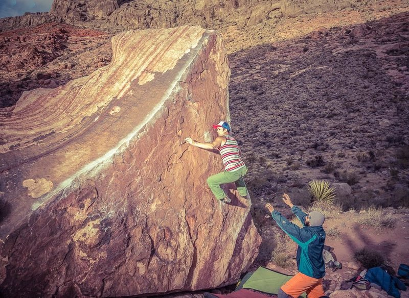 Rock Climbing Photo: Pork Chop