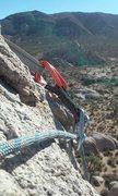 Rock Climbing Photo: headstone