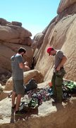 Rock Climbing Photo: Colorado crack