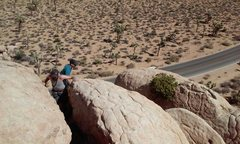 Rock Climbing Photo: Top of Just Another Roadside Attraction