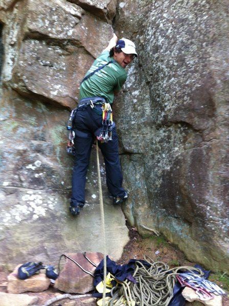 Rock Climbing Photo: climbing in arkansas