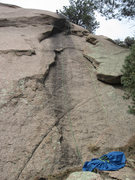 "Rock Climbing Photo: BSTO: follow the bolts.  (""Rope on route&quot..."