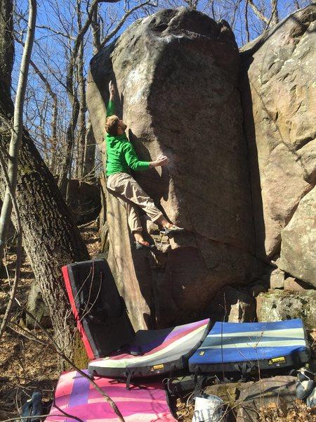 Rock Climbing Photo: Such a sick move.