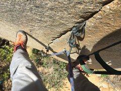 Rock Climbing Photo: Not me but someone w/ bigger balls than U!!