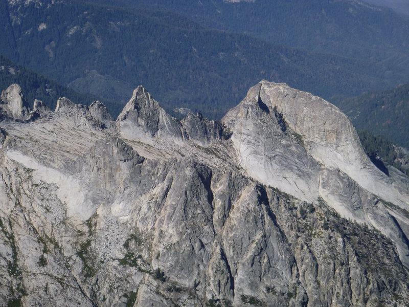 Rock Climbing Photo: Hamilton Dome (Right) and Hamilton Towers