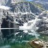 the route, from Precipice Lake