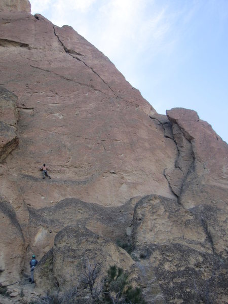 Rock Climbing Photo: Alan Collins on Master of Puppets